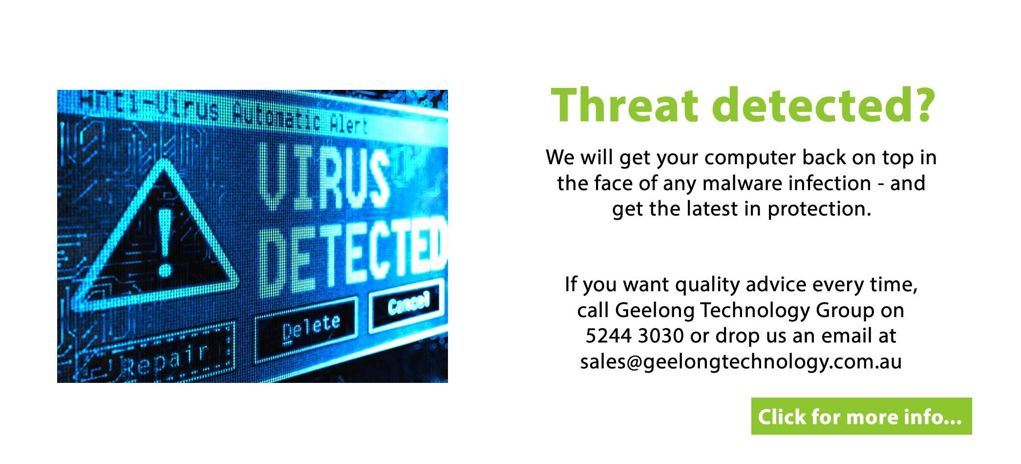 Threat detected?
